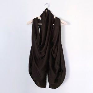 Lululemon Black Tranquility Wrap Vest